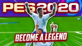 #16 BECOMING A NATIONAL HERO???  TBJZLPlays Become A Legend PES 2020