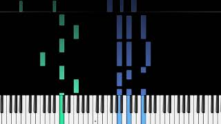 BIRDY   JUST A GAME THE HUNGER GAMES PIANO TUTORIAL