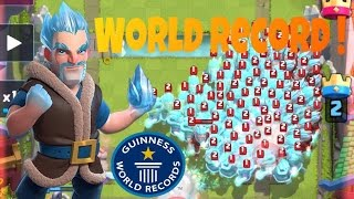 Ice Wizard's World Record | Clash Royale