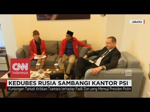 Kedubes Rusia Sambangi Kantor PSI