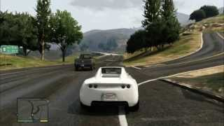 GTA V - Fastest car (Until now) - The Eletric Car