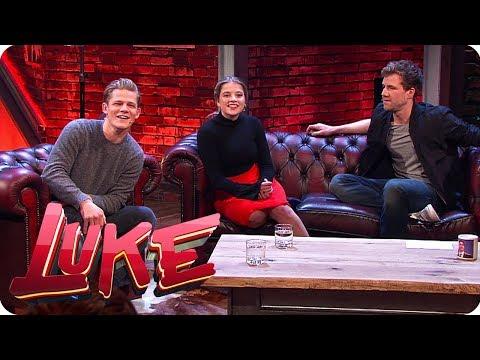 Jella Haase und Max von der Groeben - Fack ju Göhte on se Couch  - LUKE! Die Woche und ich | SAT.1