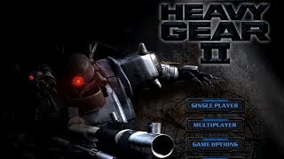 Heavy Gear II All Cutscenes (Game Movie) 1080p HD 1999
