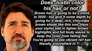 Angry Canadian Goes Crazy   April 5, 2020  - Nostalgia and Asks Does Trudeau Color His Hair