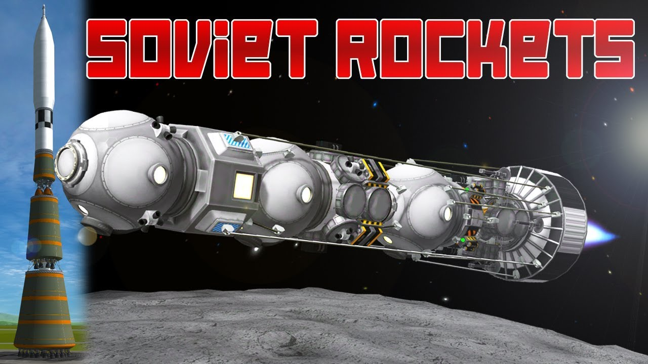 KSP: The Superior Soviet Moon Rocket! (ft. Everyday Astronaut)