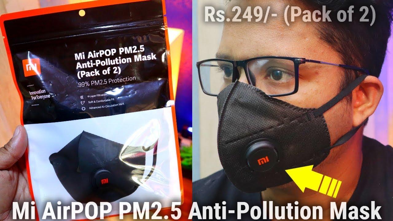 masque anti pollution xiaomi