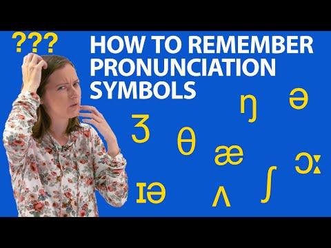 How to remember IPA phoneme symbols: my tricks!