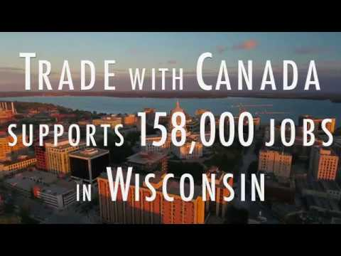 Canada & Wisconsin Trade in 74 Seconds