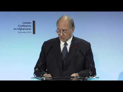 HH the Aga Khan address at London Conference on Afghanistan 2014