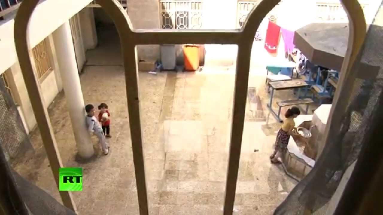 Школы на севере Ирака превратились из образовательных учреждений в пристанища для беженцев