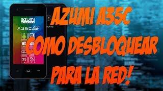 AZUMI A35C NO PASA DEL LOGO #3 ... COMO DESBLOQUEAR PARA LA RED!👍