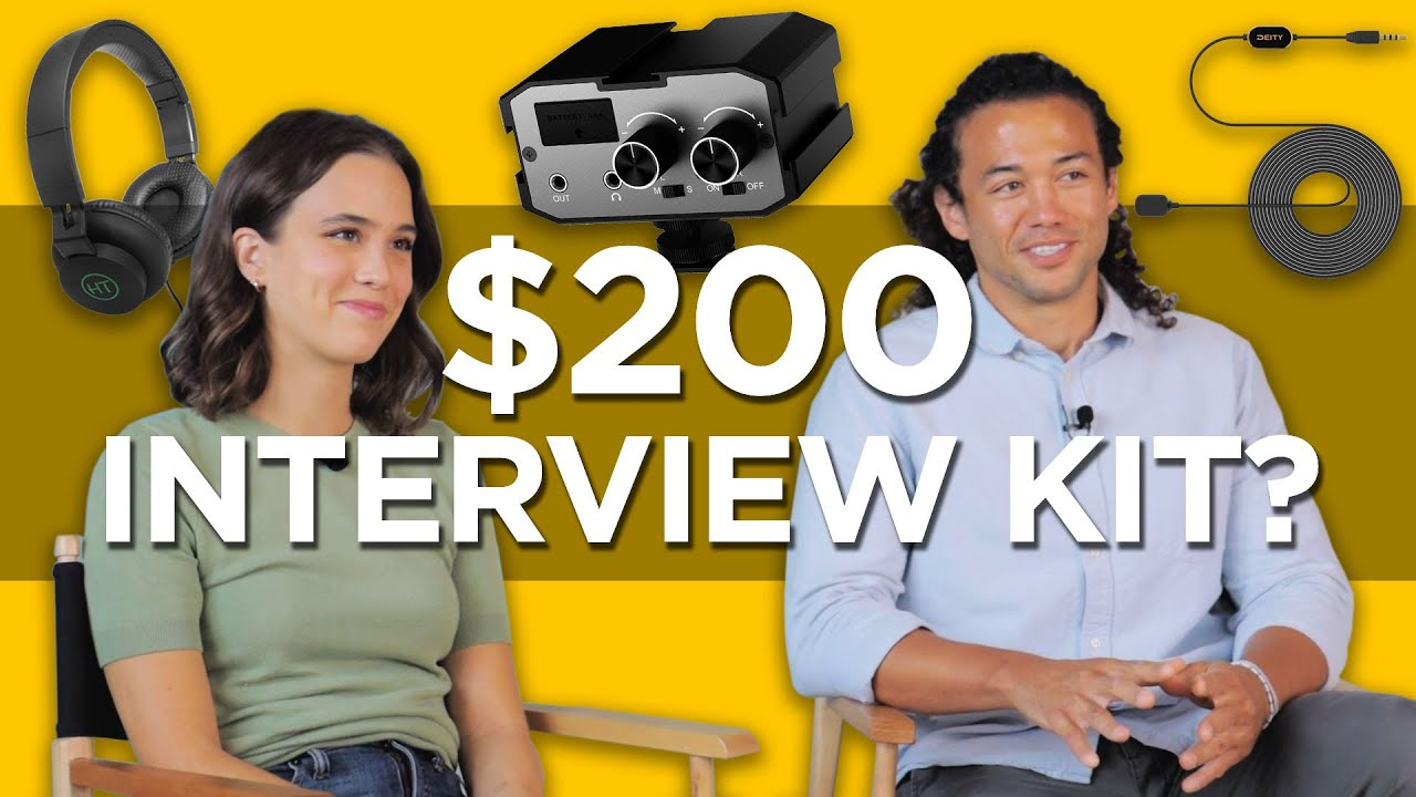 How to Record Lavalier Interview Audio on a $200 Budget