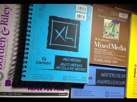 My Art supplies: Paper