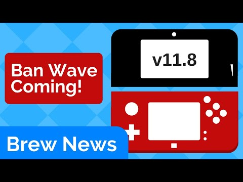3DS 11.8 Ban Wave? Nintendo Switch SDK Leaked | Brew News