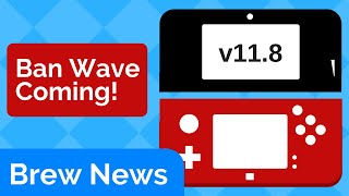 3DS 11.8 Ban Wave? Nintendo Switch SDK Leaked   Brew News