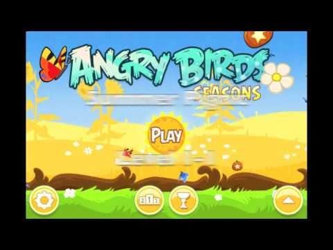 Angry Birds Seasons 1-1 Summer Pignic Walkthrough 3 stars ...