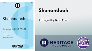 Shenandoah (SSA) - arr. Brad Printz