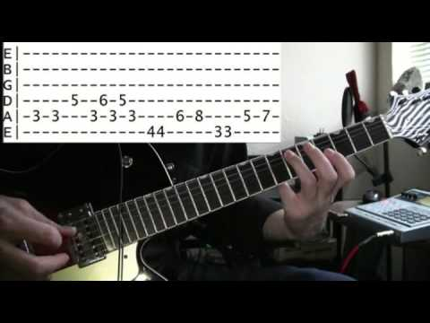 guitar lessons online Marilyn Manson sweet dreams tab