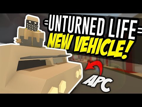 NEW VEHICLE - Unturned Life Roleplay #11