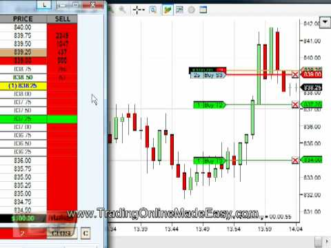 SP 500 live trade 6 min 475 on 4 contracts emini futures - YouTube