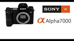 New Sony A7000 specs