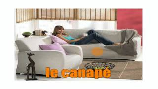 French words with pictures #  Living room