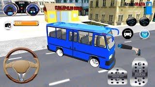 Direksiyonlu YENİ Minibüs Şoförü Oyunu Türkiye // Çocuklar İçin Araba Oyunları 3D #3 FHD