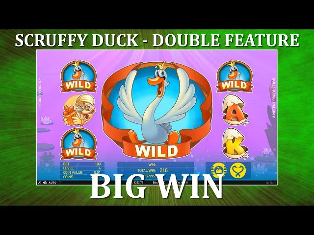BIG WIN - Scruffy Duck - Double Feature