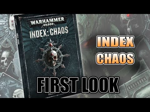 8th Edition Chaos & Daemon New Rules: Index Chaos REVIEW