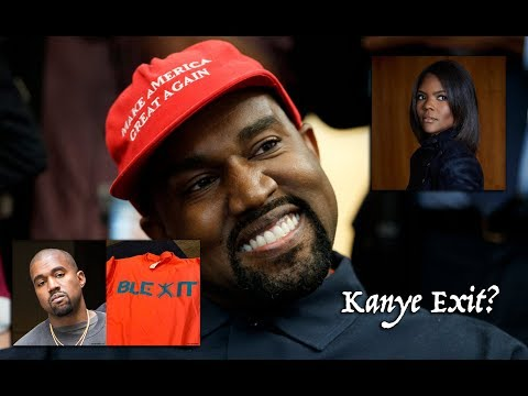 Kanye West Calls Out Candace Owens & Blexit - Feels Used. What's Going On!?