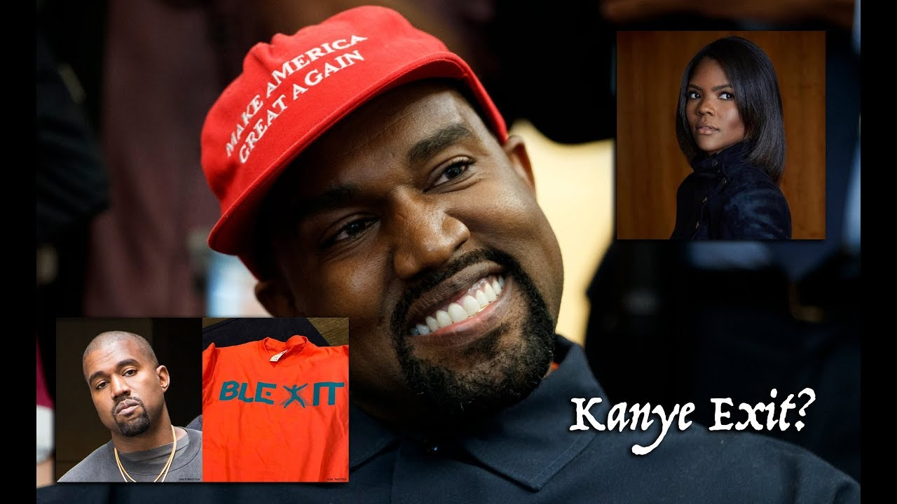 5aa276fff Kanye West Calls Out Candace Owens   Blexit - Feels Used. What s Going On!