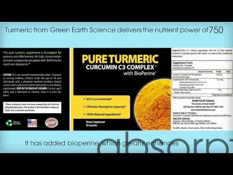 Green Earth Science Product With Turmeric Benefits