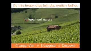 Camping la Grappe Fleurie- BEAUJOLAIS.wmv
