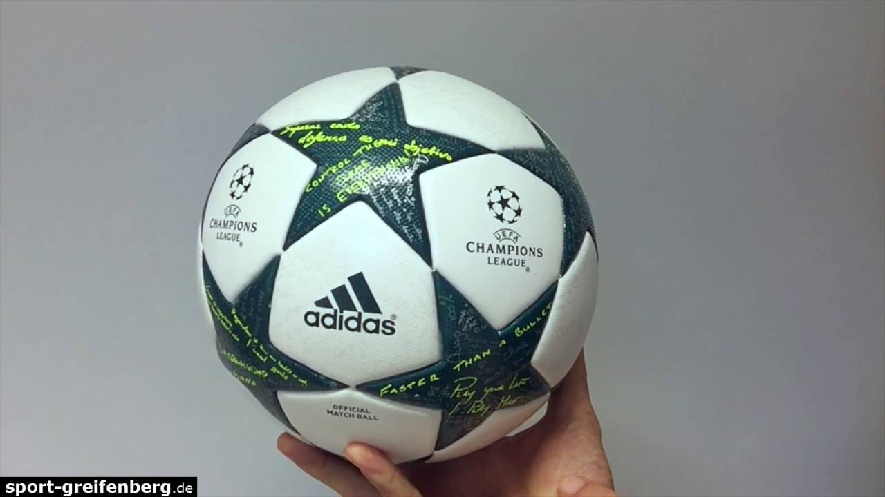 adidas finale 16 omb 2016 2017 champions league ball. Black Bedroom Furniture Sets. Home Design Ideas