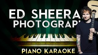 Video Ed Sheeran - Photograph | Piano Karaoke Instrumental Lyrics Cover Sing Along download MP3, 3GP, MP4, WEBM, AVI, FLV Januari 2018
