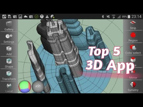 Top 5 3D Modelling Apps For Android