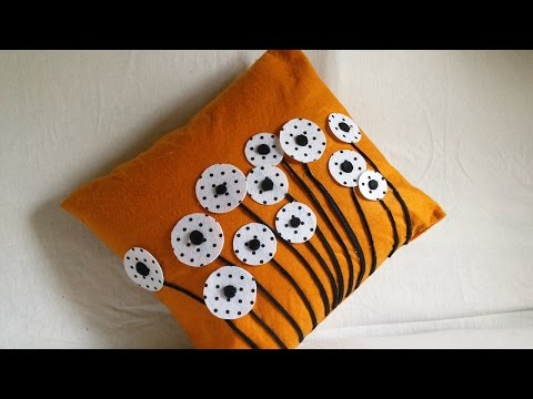 diy-home-decor-|-cushion-cover-|-making-felted-pillow-cases-|-handiworks-#55
