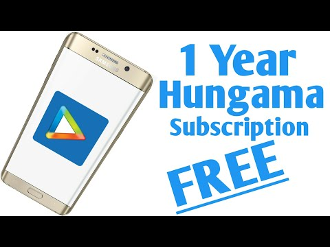 How to get Hungama 1 Year Free Subscription