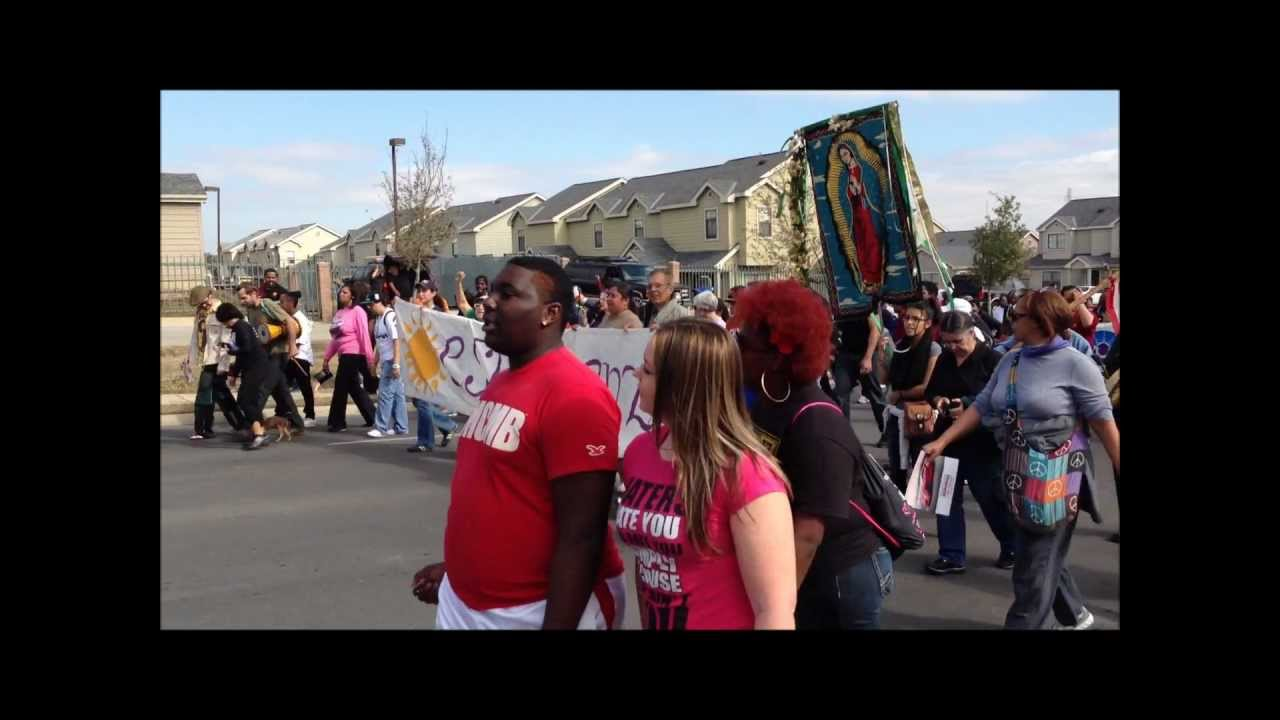 2013 Martin Luther King March In San Antonio Texas Youtube