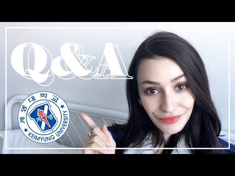 LIVING IN KOREA || Keimyung University Q&A
