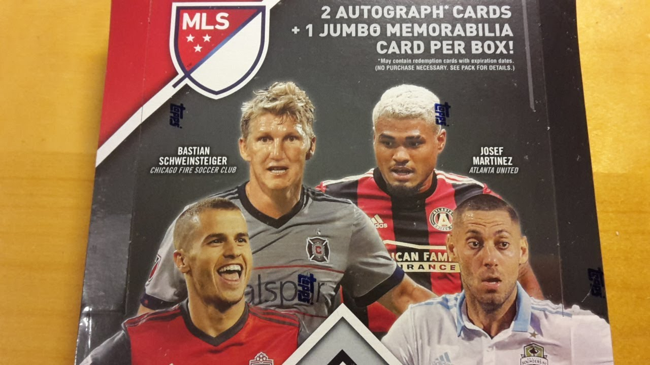 2018 Topps Mls Soccer Hobby Box Break And Review Youtube