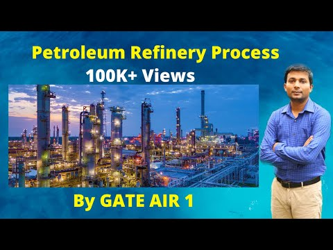 Part 1- How petroleum refinery works? Overview of petroleum refining in Hindi