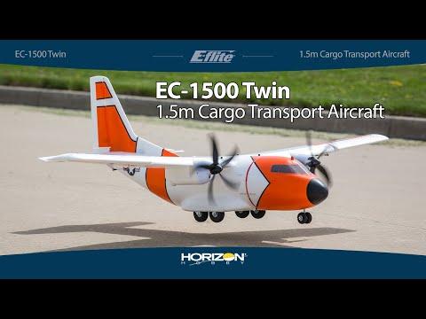 E-flite® EC-1500 Twin 1.5m PNP & BNF® Basic