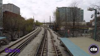 CTA Ride the Rails: Purple Line to Howard in Real Time