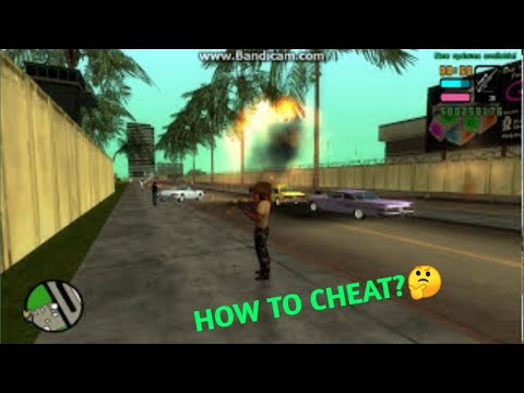 How To Cheat In GTA VICE CITY Stories UPDATED 2014 PC