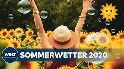 SOMMERANFANG: Die Aussichten sind sonnig - der Sommer wird angenehm