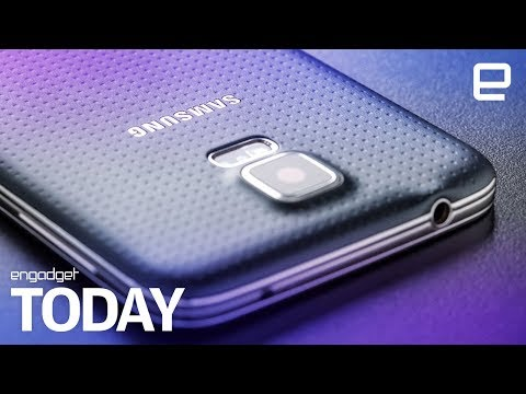 Samsung: Mine bitcoin with old Galaxy S5s | Engadget Today