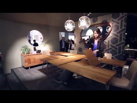 Ozzio Italia | Salone del mobile 2016 | Milan | SPACE SAVING FURNITURE
