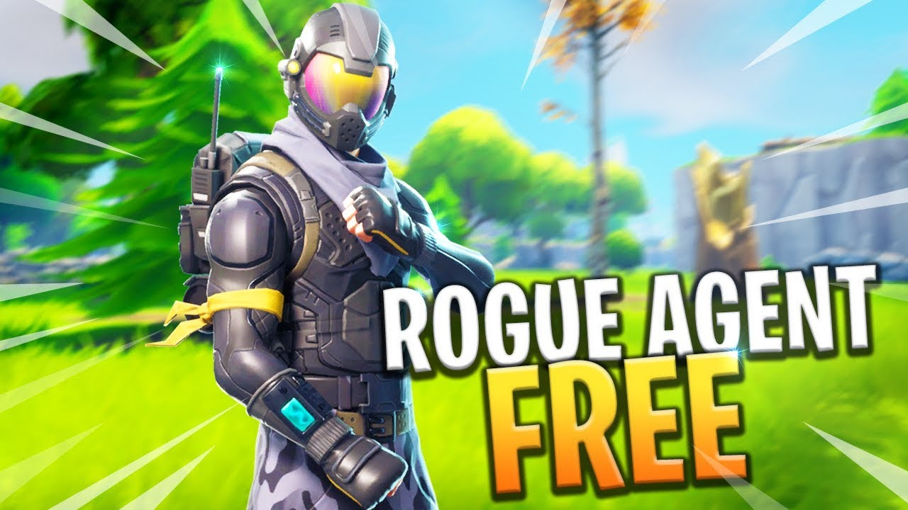 NEW ROGUE AGENT SKIN FREE