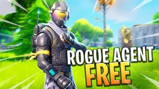 NEW ROGUE AGENT SKIN FREE - Fortnite: Battle Royale
